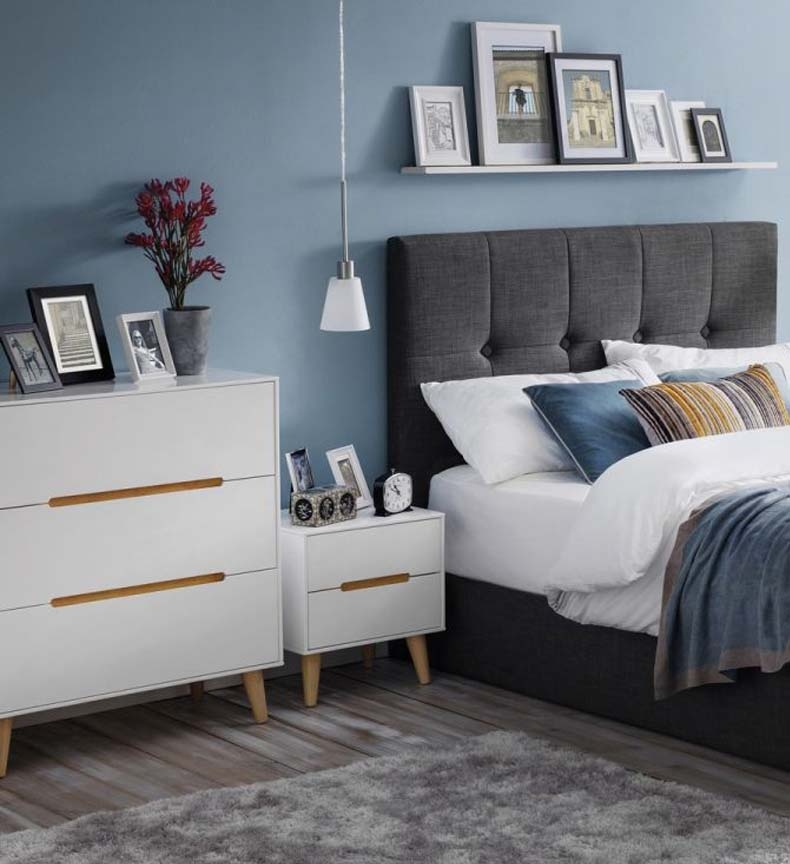 Alcester White Bedroom Furniture. From £109.