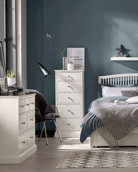 Bentley Designs Ashenby White Bedroom Furniture