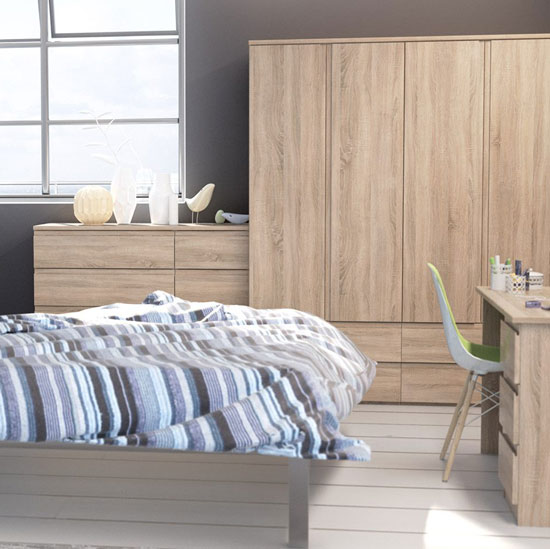 Avenue Truffle Oak Bedroom Furniture. £99-£1349.