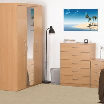 Beech Mode Bedroom Furniture.£65-£289.