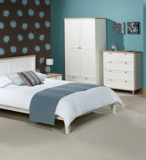 Boston Ash Two Tone Bedroom Furniture.
