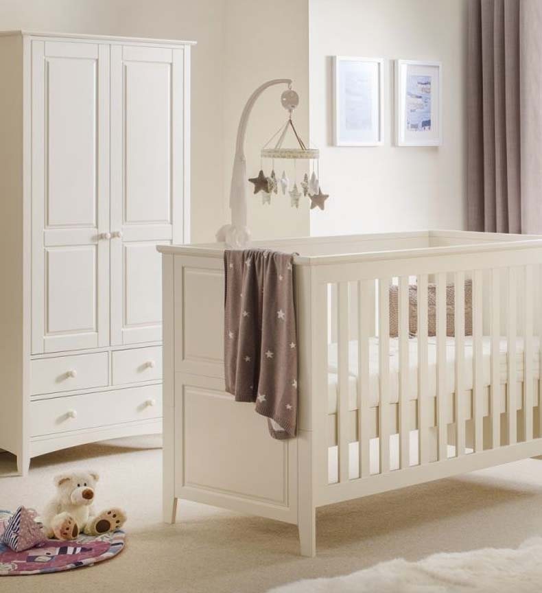Cambell Stone White Nursery Furniture.