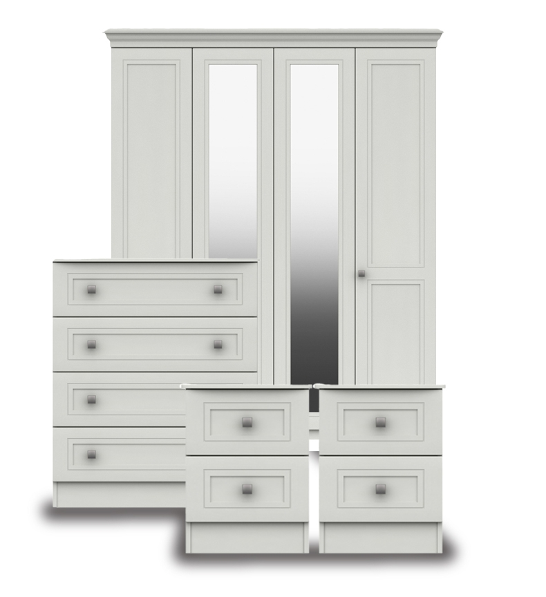 Cambridge White Bedroom Furniture.From £139.
