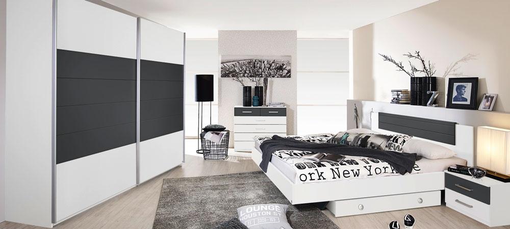 Rauch Celina Alpine White Bedroom Furniture. £49-£499.