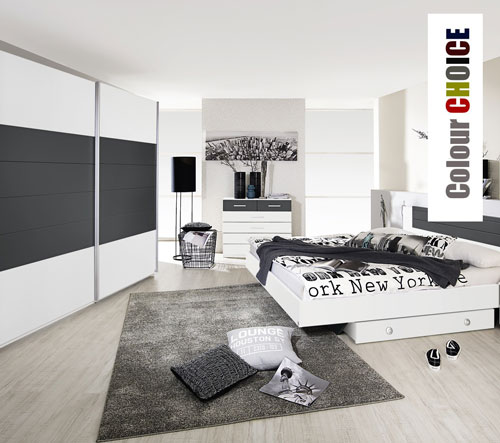 Rauch Celina Alpine White Bedroom Furniture. £49-£499.