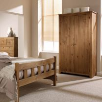Havana Rustic Pine Bedroom Furniture.£45-£279.