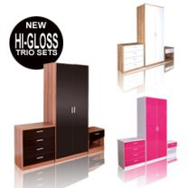 High Gloss Trio Sets From £199.