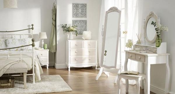Julienne Hand Finished Bedroom Furniture.