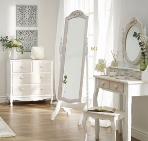 Julienne Hand Finished Bedroom Furniture. £35-£229.
