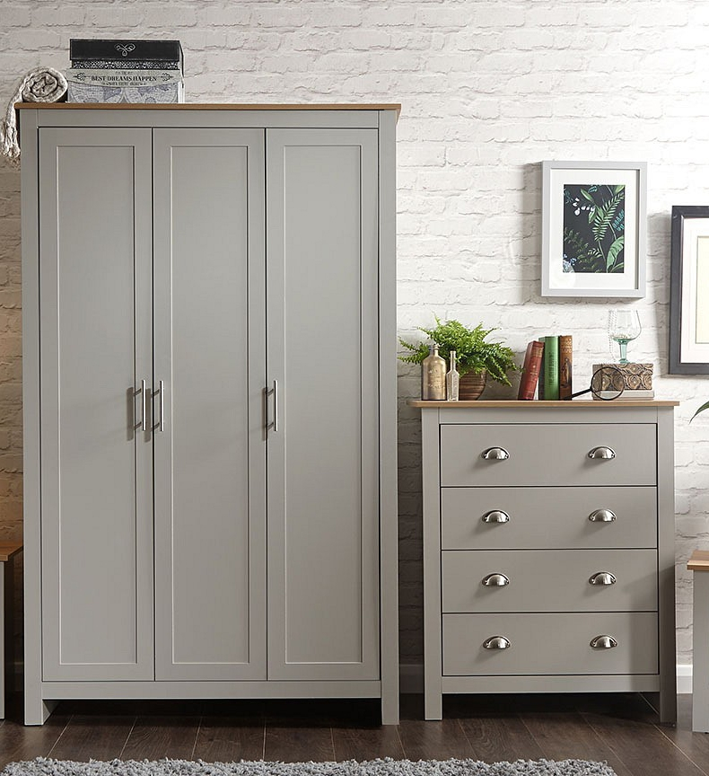 Lancashire Grey Bedroom Furniture