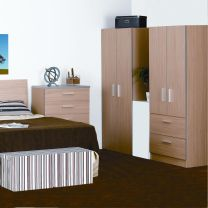 Oak Mode Bedroom Furniture.£59-£285.