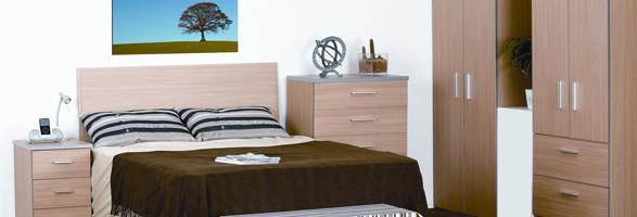 Oak Mode Bedroom Furniture.£59-£285.