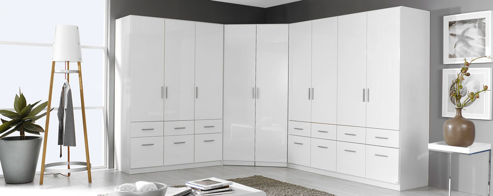 Rauch Cello High Gloss Bedroom Furniture. £69-£499.