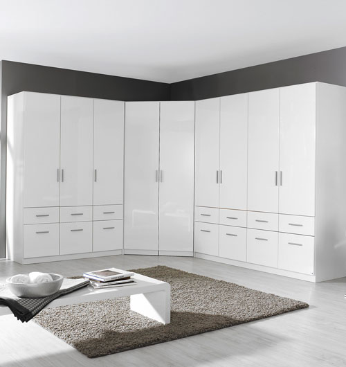 Rauch High Gloss Cello Bedroom Furniture