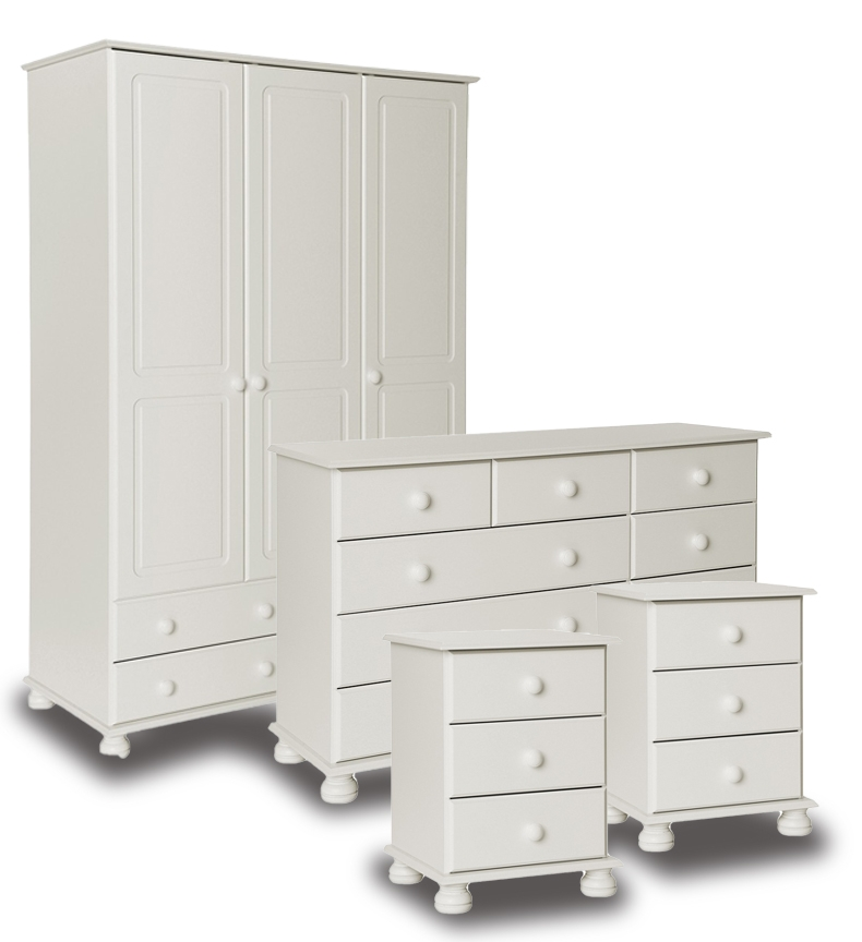 Richmond White Bedroom Furniture.