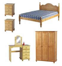 Solar Pine Bedroom Furniture.£59-£299.