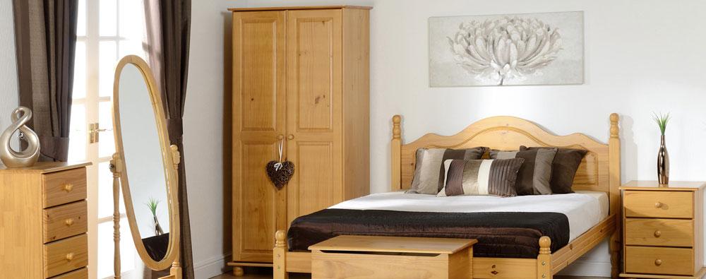 Solar Pine Bedroom Furniture