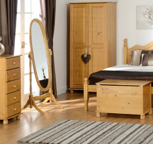 Solar Pine Bedroom Furniture