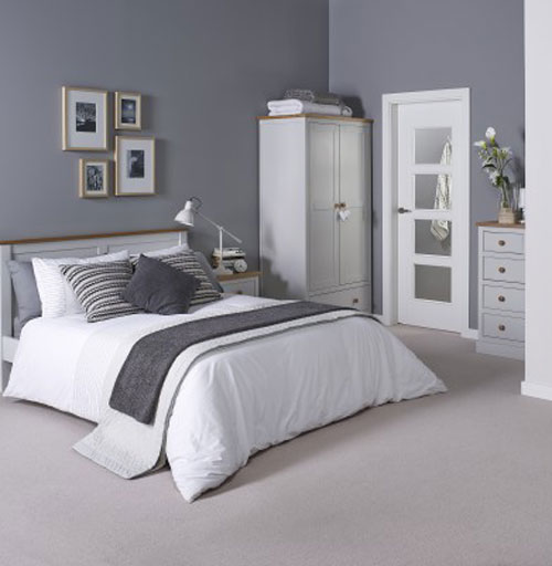 St.Austell Dove Grey Bedroom Furniture. £65-£399. - Bedroom Furniture
