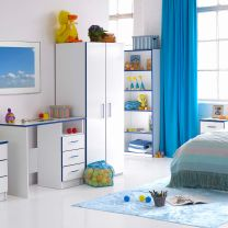 Teen Mode Blue Bedroom Furniture.£49-£179.