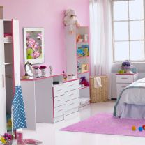 Teen Mode Pink Bedroom Furniture.£49-£179.