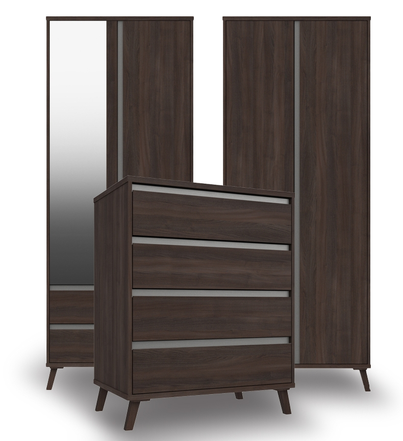 Thames Truffle Oak Bedroom Furniture. From £119.