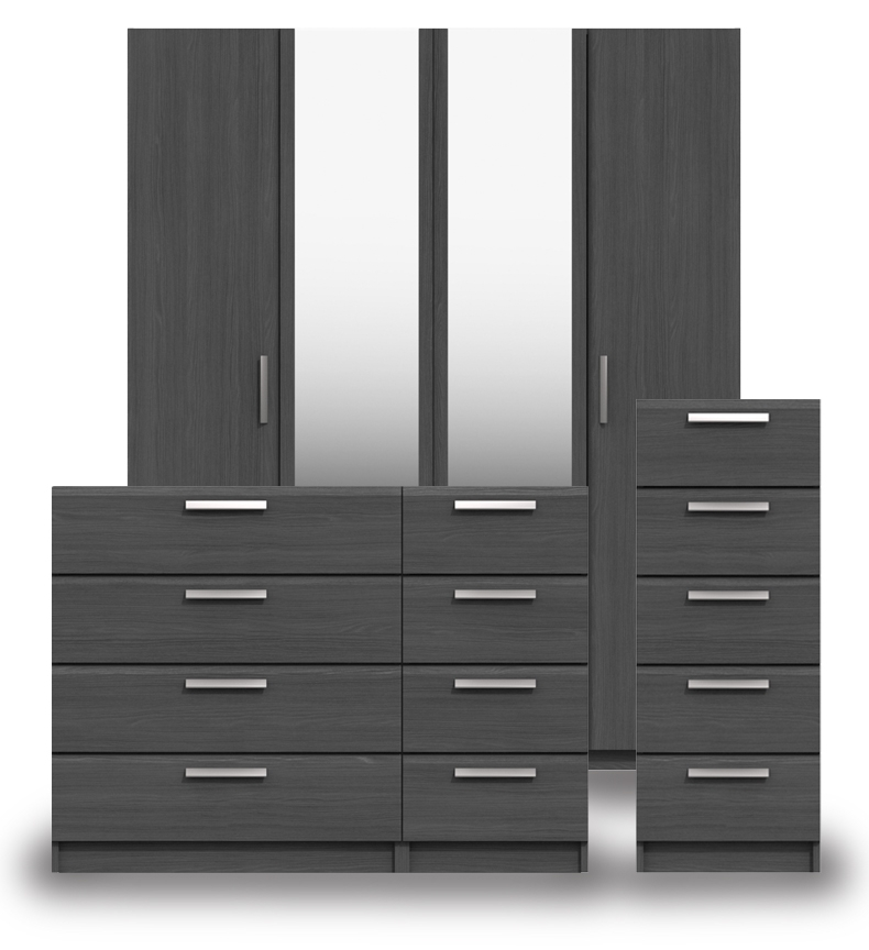 Waterford Graphite Bedroom Furniture.