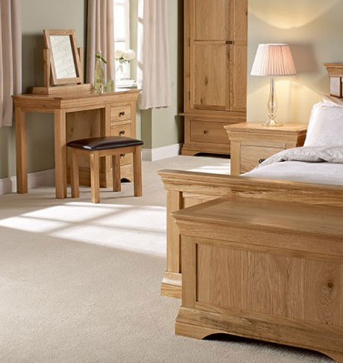 Worthington Oak Bedroom Furniture. £199-£999.