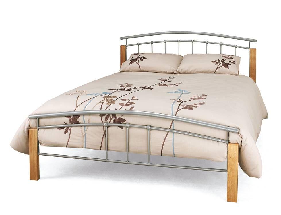 Tetras Silver Three Quarter 3 4 Bed Frame Three