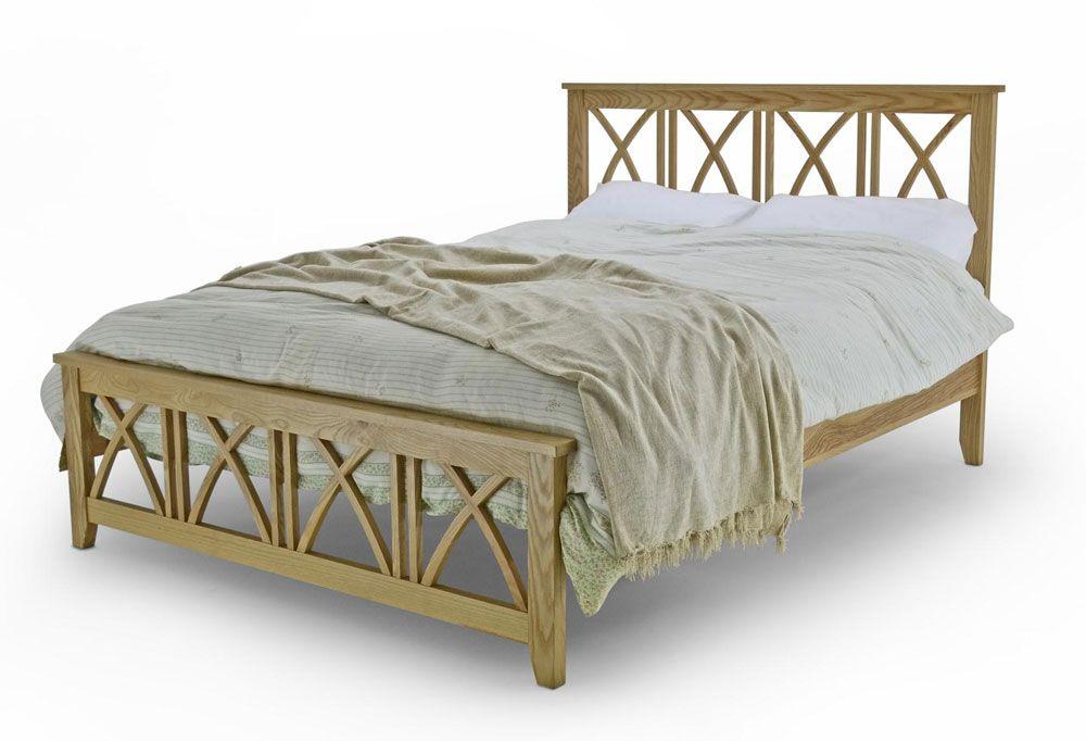 Ashfield King Size Oak Bed Frame King Size Bed Frames