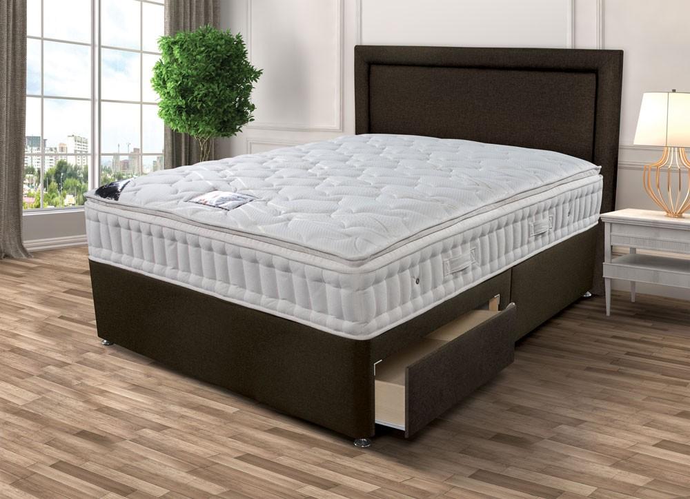 Sleepeezee Backcare Superior 1000 Single Divan Bed