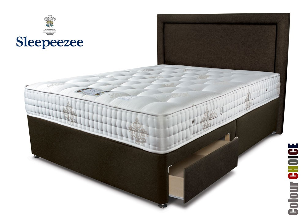 Sleepeezee Bordeaux 2000 Single Divan Bed