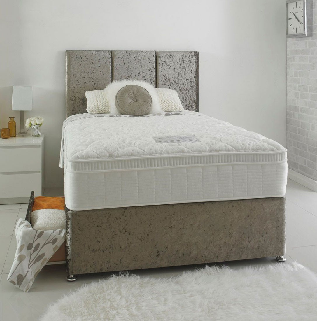 Celebrate 1800 Deluxe Three Quarter 3 4 Divan Bed