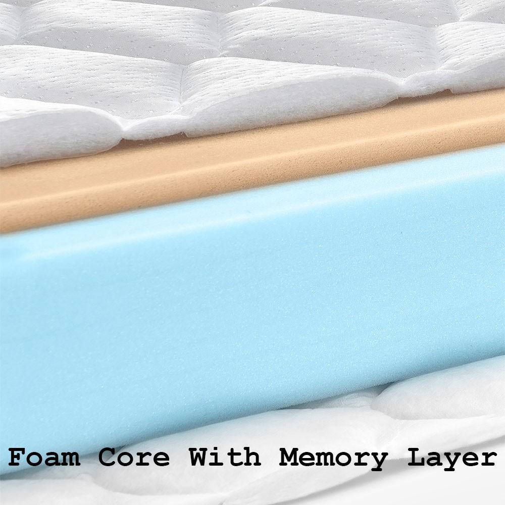 3 Quarter Bed Mattress Topper : Revival three quarter memory foam mattress