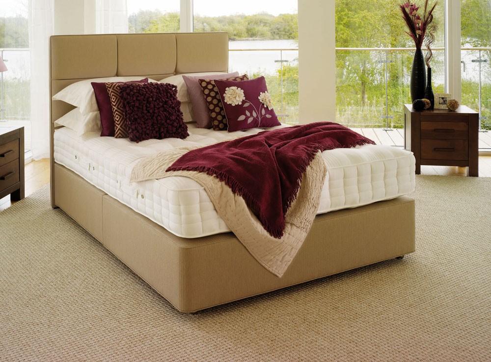 3 Quarter Bed Mattress Topper : Hypnos orthos latex three quarter divan bed