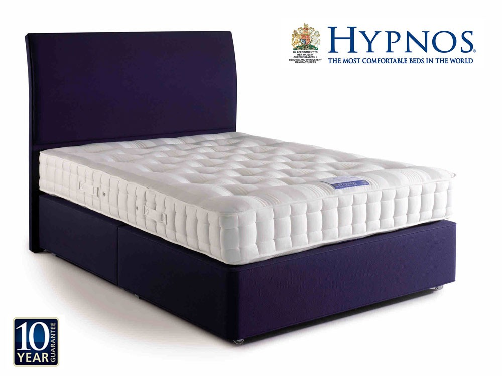 Hypnos Orthos Wool Super Kingsize Divan Bed