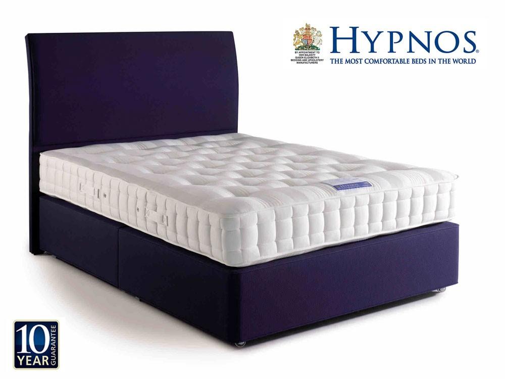 Hypnos orthos wool super kingsize divan bed for Hypnos divan beds