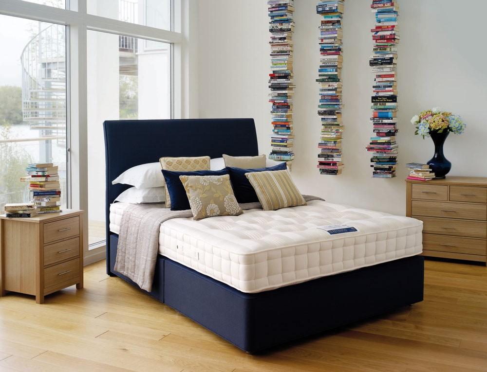 hypnos orthos wool single divan bed single divan beds. Black Bedroom Furniture Sets. Home Design Ideas