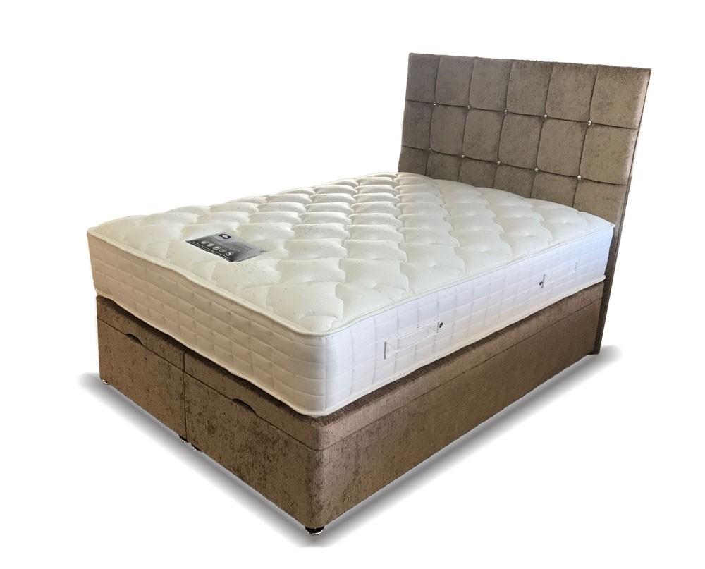 Verano Ottoman Storage Super Kingsize Divan Bed