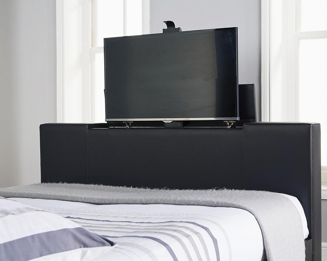 Nottingham Black King Size Tv Bed Frame King Size Bed