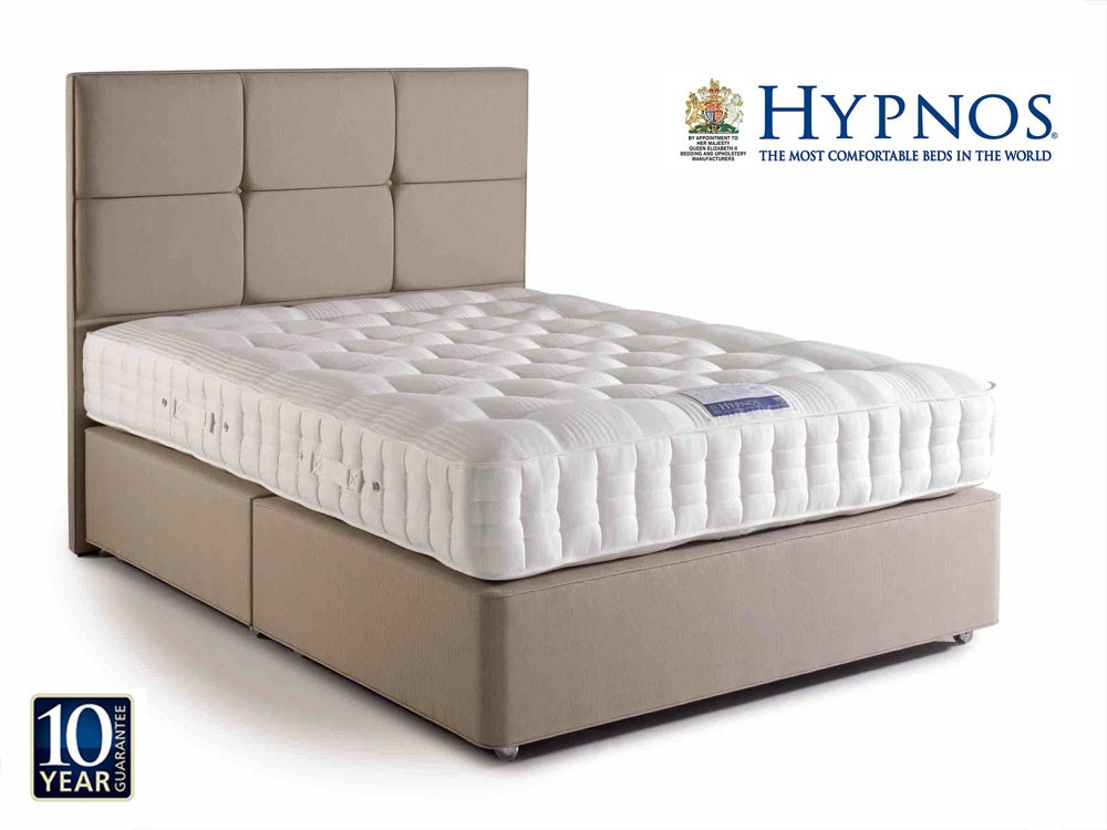 hypnos orthos latex double divan bed double divan beds. Black Bedroom Furniture Sets. Home Design Ideas