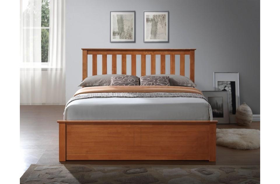 Miraculous Flame Oak King Size Ottoman Storage Bed Frame Dailytribune Chair Design For Home Dailytribuneorg