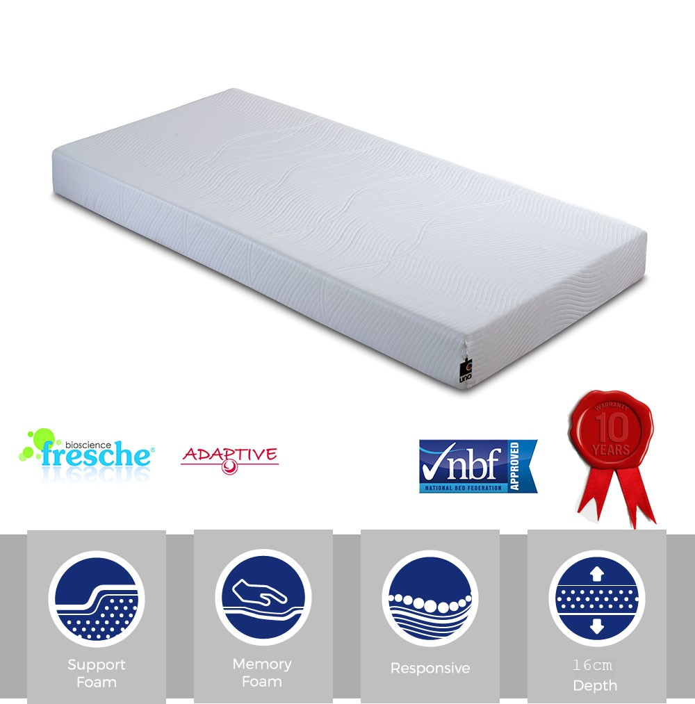 Revival Small Single Memory Foam Mattress