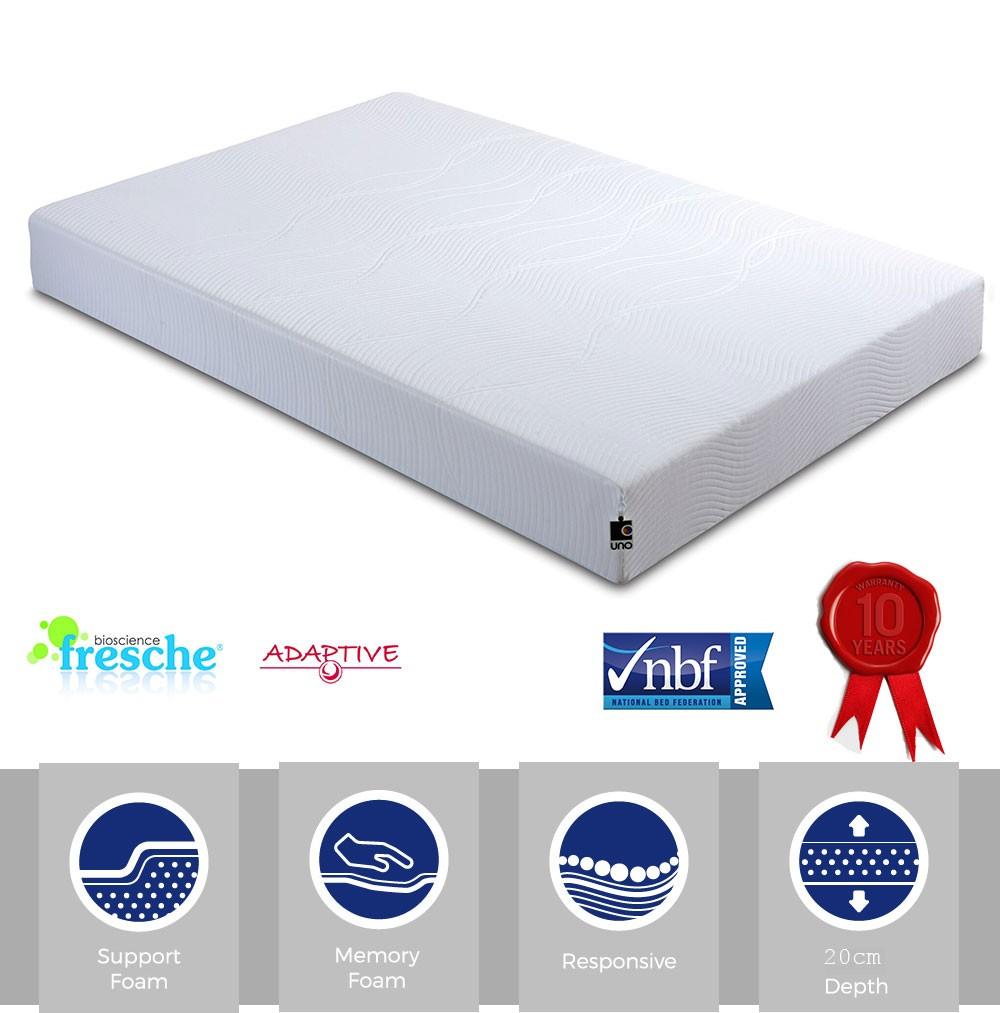 Vital 300 Single Memory Foam Mattress