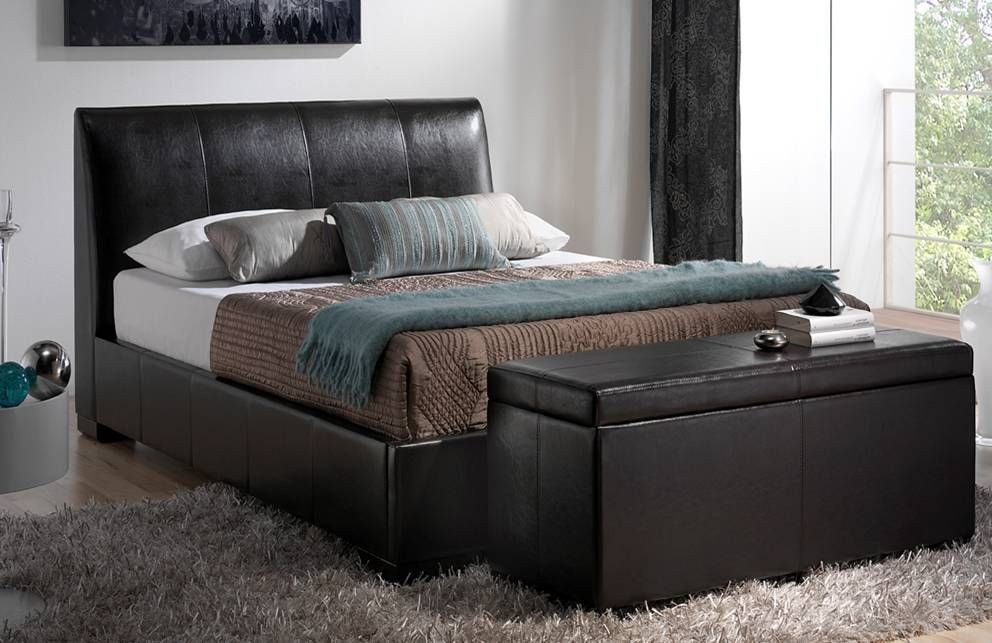 Kenton Brown Three Quarter Bed Frame