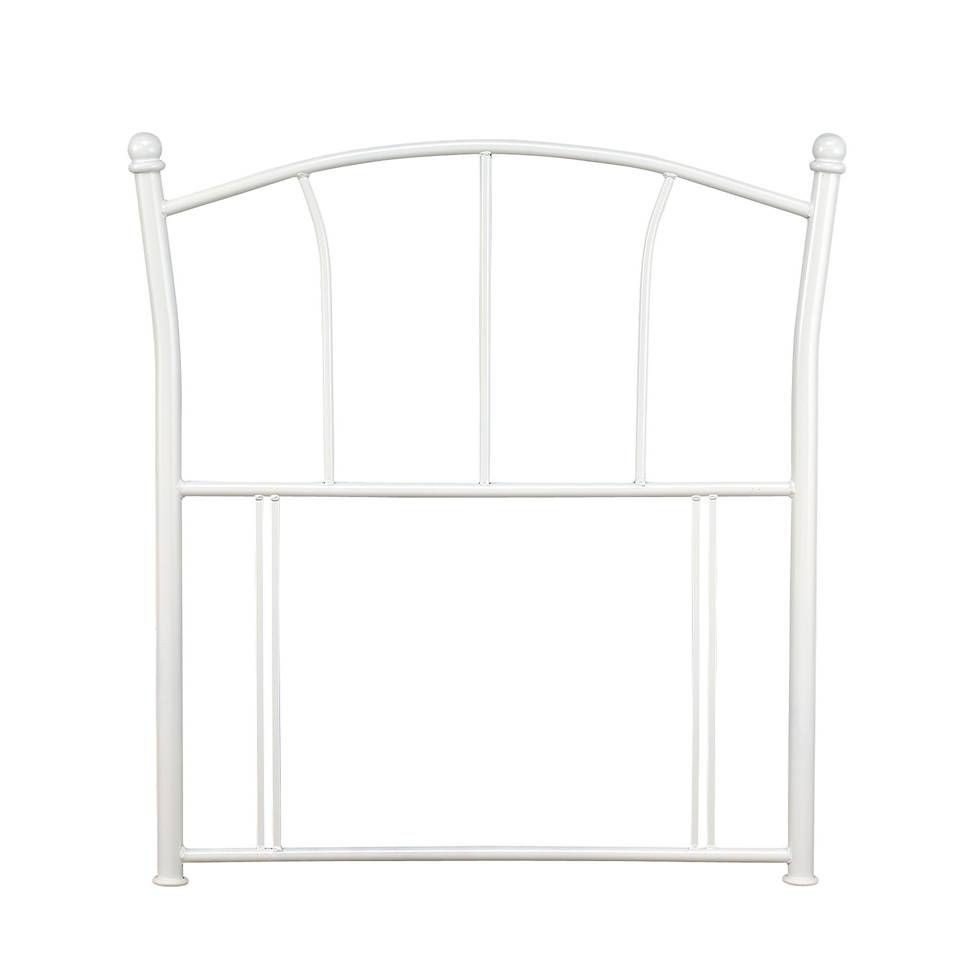 Penny White Single Headboard