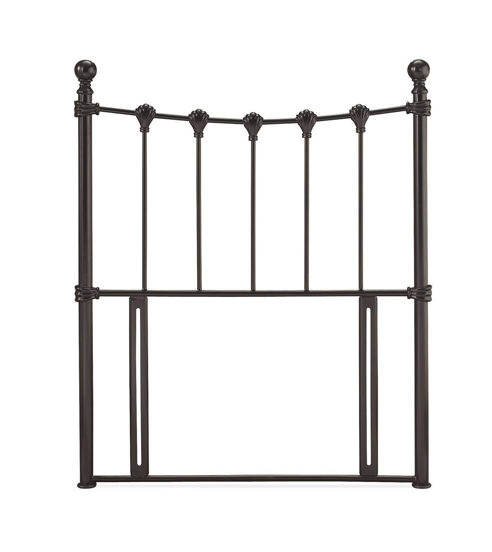 Marseilles Black Single Headboard