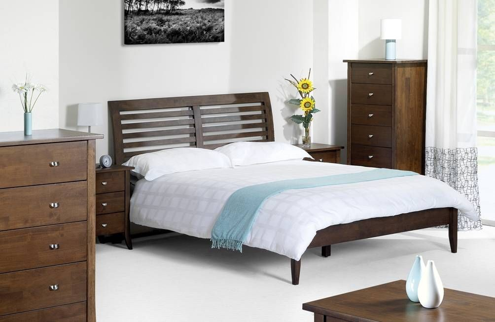 Minuet Slatted King Size Bed Frame - King Size Bed Frames - Bed Frames