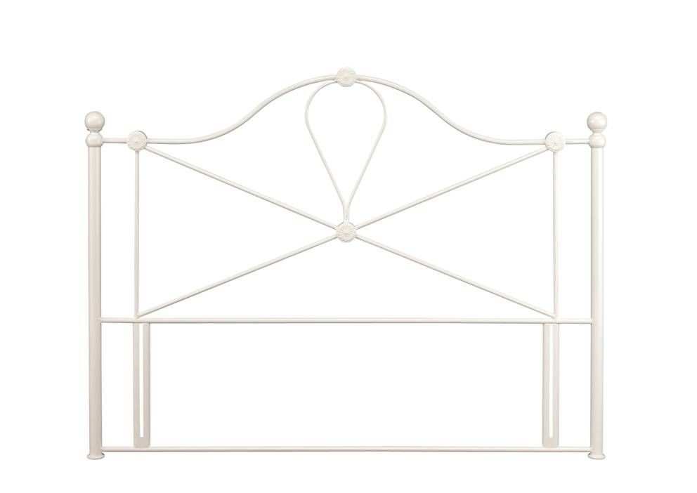 Lyon Ivory Three Quarter Headboard
