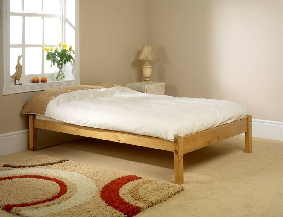 Studio small single bed frame for Compact beds